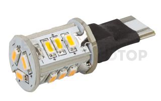 Автолампа ARL-T10-15S Warm White (10-30V, 15 LED 3014)